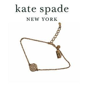 Kate Spade Gold Tone Bracelet